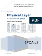 LTE Protocol Stack Physical Layer