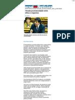 JN - Criticada promiscuidade entre política e negócios
