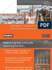 What makes Makron Logmatic machining lines so smart?