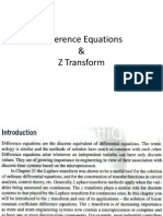 Difference Equatioasdasdns Z Transform