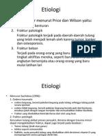 Etiologi fraktur