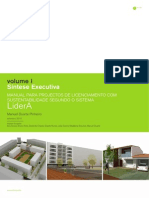 Manual para Projectos de Licenciamento com sustentabilidade segundo o Sistema LiderA. Manuel Duarte Pinheiro (2010)