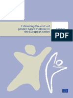 Estimating the costs of gender-based violence in European Union