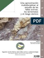 CARACTERIZACIÓN ESTRUCTURAL Y ACTIVIDAD TECTÓNICA RECIENTE DE LA FALLA DE CREVILLENTE Martin-Rojas Etal 2014 Crevillente Iberfault