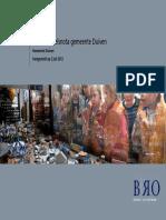 Gemeente Duiven Detailhandelsnota 2012