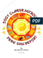 2007 Chinese Astrology Feng Shui Report