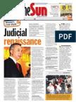The Sun Malaysia Cover (10 April 2008)