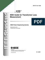 IEEE C57 123 Transformer Loss Measurement