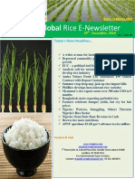 29th December,2014 Daily Global Rice E-Newsletter by Riceplus Magazine