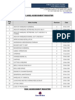 Risk Assessment Register (Content Page).doc