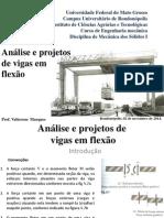 Analise e Projetos de Viga em Flexão.