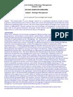 Exm 2520 Strategic Management Ok