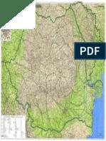 Romania Harta Rutiera