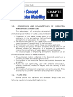 Flue Gas Dispersion Model Study