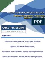 Capacitação sobre Projetos de Arquitetura e Engenharia OGU (JAN 2010).ppt