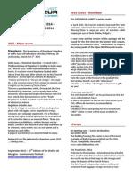 News Cote d'AZur 2014 - 2015