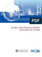 Global and Russian Energy Outlook Up to 2040