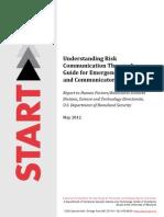 Understanding Risk CommunicationTheory