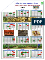 CPCRI Calendar 2015
