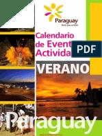 CALENDARIO DE EVENTOS Y ACTIVIDADES - VERANO 2015 - PARAGUAY - PORTALGUARANI
