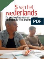 Brochure Nederlands Voor Anderstaligen in Oost Vlaanderen