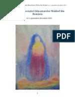 Revista Asociației Educatoarelor Waldorf din Romania, nr. 1, anul 2013