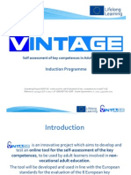 VINTAGE Induction Programme
