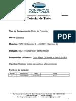 Tutorial Teste Teleprotecao CE6006