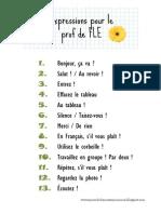 Expressions Pour Le Prof de FLE