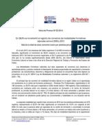 Nota de Prensa Nº 02 - 2014 OSEL Callao
