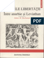 James M. Buchanan-Limitele Libertatii