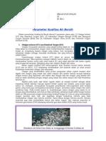 Parameter Kualitas Air Bersih