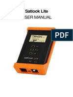 Satlook Lite User Manual