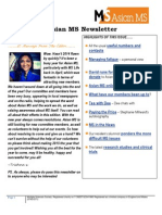 Asian MS Newsletter 2014_Issue 4
