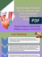 Epidemiologi Sindrom Steven Johnsons Dan Toxic Epidermal Nerolysis