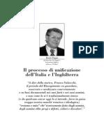 Il processo di unificazione dell'Italia e l'Inghilterra