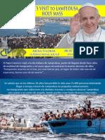 Francisco en Lampeduza
