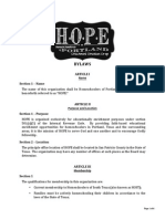 hope bylaws