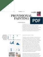 Provisional Painting - Magazine - Art in America
