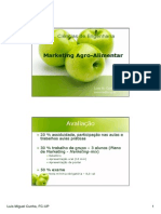 Marketing Agro-alimentar