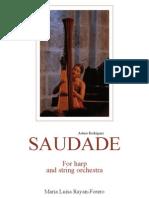 Saudade Harp and Strings - Score(2)