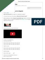 Kolaveri Di Meaning, Lyrics, English Translation