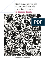 Dos Estudios a Partir de La Descomposición de Marcus Rothkowitz