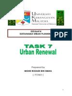 Urban Renewal by Rozaidi ismail