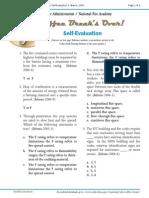 Cbt Self Evaluation