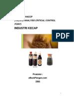 Model Rencana Haccp Industri Kecap
