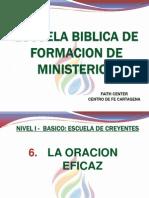 Presentacion La Oracion Eficaz