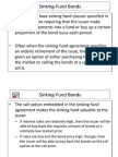 Sinking Fund Bonds