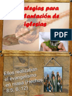 Estrategias Para La Plantación de Iglesias