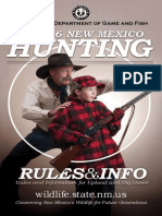 2015-16 New Mexico Hunting Rules and Info